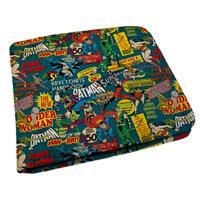 Carteira colorida dos Super Heróis