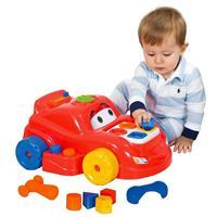 Carro com Atividades Playtime - Cotiplás