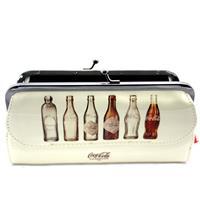 Carteira Bottle Evolution Creme Claro - Coca-cola