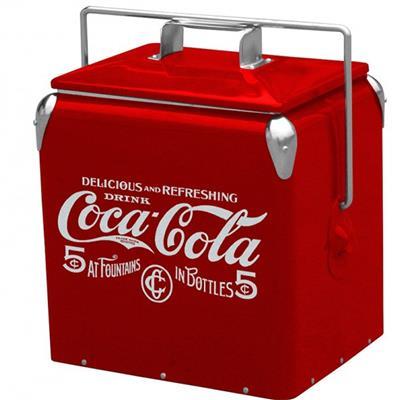 Cooler Coca Cola vermelho