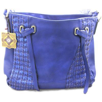 Bolsa Lacelore em couro sintético Azul