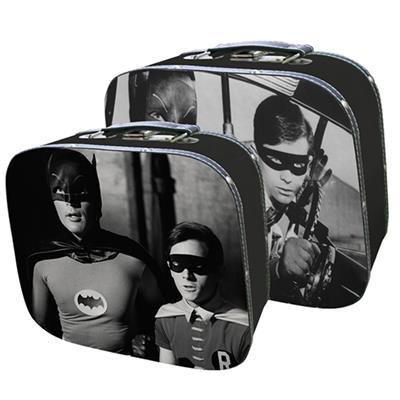 Kit 2 peças de maletas do filme Batman e Robin