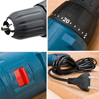Furadeira Parafusadeira 400w Controle Torque -gsr714e- Bosch