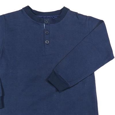 e27024e50c Camiseta Infantil Manga Longa Azul marinho - Colorittá - WMB Store