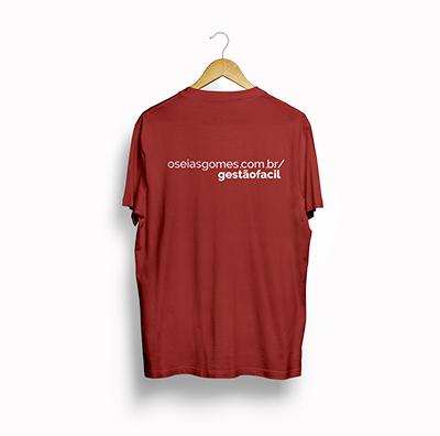 Camiseta Gestão Fácil Masculina - Oséias Gomes