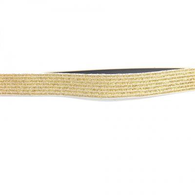 Cinto dourado fino de strass com elástico